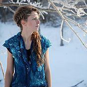 Одежда ручной работы. Ярмарка Мастеров - ручная работа Версиль-хозяйка зимнего леса.... Handmade.
