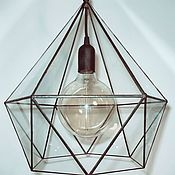 Для дома и интерьера handmade. Livemaster - original item Lamp loft Andromeda. Handmade.