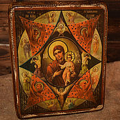 Картины и панно handmade. Livemaster - original item The Image Of The Mother Of God