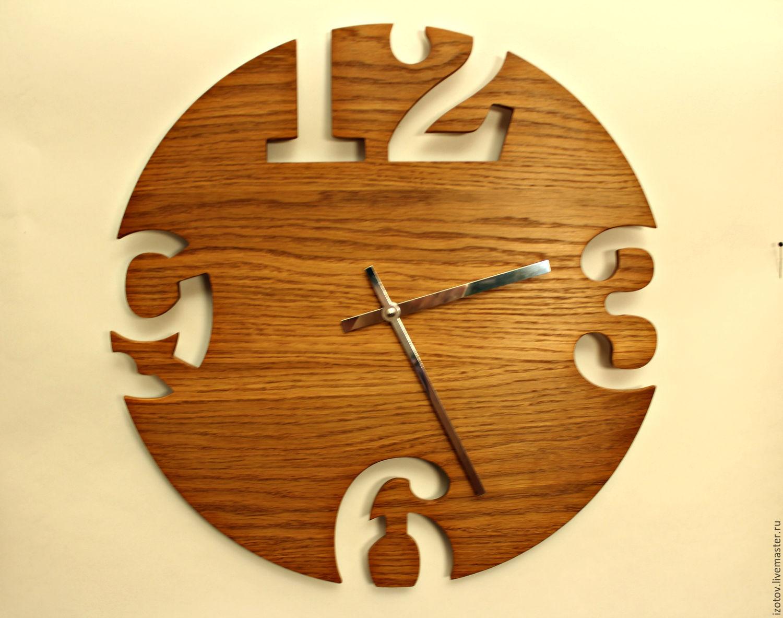 Часы из фанеры своими руками фото