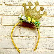 Украшения ручной работы. Ярмарка Мастеров - ручная работа Корона для принцессы. Handmade.
