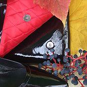 """Сумки и аксессуары ручной работы. Ярмарка Мастеров - ручная работа Лаковый клатч  """" Испания"""". Для примера. Handmade."""