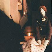Куклы и игрушки ручной работы. Ярмарка Мастеров - ручная работа Домашняя тильдочка Зина. Handmade.