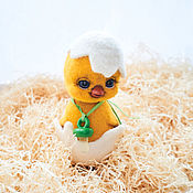 handmade. Livemaster - original item Chick Fluff. Fulled (felted) wool.. Handmade.