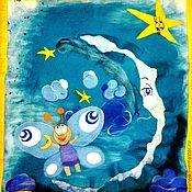 """Для дома и интерьера ручной работы. Ярмарка Мастеров - ручная работа Одеяло. """"Путешественница"""" для Карины. Для самых маленьких.. Handmade."""