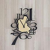 """Для дома и интерьера ручной работы. Ярмарка Мастеров - ручная работа Часы 36см """"Tilk-2"""". Handmade."""