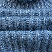 Одежда ручной работы. Ярмарка Мастеров - ручная работа Свитер голубой. Handmade.