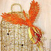 Для дома и интерьера ручной работы. Ярмарка Мастеров - ручная работа Жар-птица. Handmade.