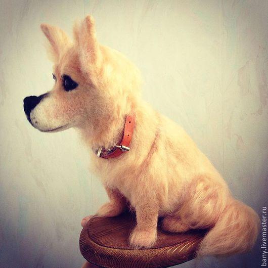 """Игрушки животные, ручной работы. Ярмарка Мастеров - ручная работа. Купить пёс """" Малыш"""". Handmade. Пес, собака из шерсти"""