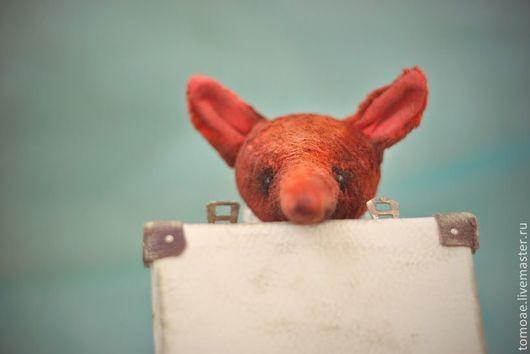 Мишки Тедди ручной работы. Ярмарка Мастеров - ручная работа. Купить чердачная лиса. Handmade. Рыжий, лисичка винтажный плюш
