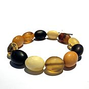 Украшения handmade. Livemaster - original item Bracelet made of natural amber