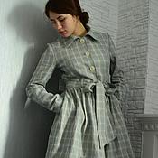 Одежда ручной работы. Ярмарка Мастеров - ручная работа Летнее пальто для Юлии. Handmade.