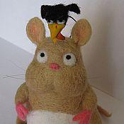 Куклы и игрушки ручной работы. Ярмарка Мастеров - ручная работа Валяный малыш Боо (Унесённые призраками). Handmade.