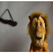 Куклы и игрушки ручной работы. Ярмарка Мастеров - ручная работа Лев, который отстреливался... Handmade.