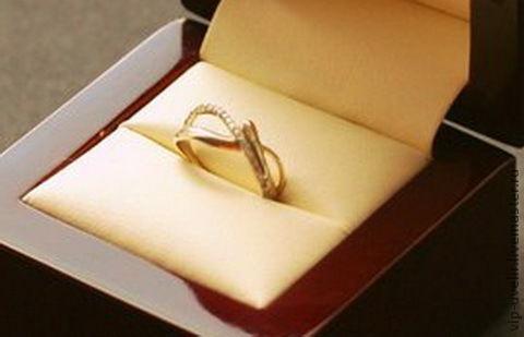 Кольца ручной работы. Ярмарка Мастеров - ручная работа. Купить Кольцо из белого золота 585 пробы с бриллиантами. Handmade. Золотой