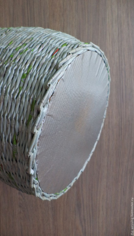 Ваза декоративная серо-зеленая
