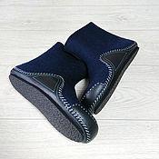 Обувь ручной работы handmade. Livemaster - original item Men`s boots with leather soles. Handmade.