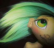 """Куклы и игрушки ручной работы. Ярмарка Мастеров - ручная работа Кукла текстильная ручной работы """"Лимонно-мятное монпансье"""". Handmade."""