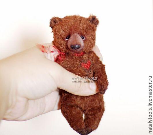 Мишки Тедди ручной работы. Ярмарка Мастеров - ручная работа. Купить Карманный мишка. Или сумочный. Или подушечный.. Handmade.