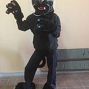 Куклы и пупсы ручной работы. Ярмарка Мастеров - ручная работа Чёрная пантера ( ростовая кукла ). Handmade.