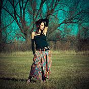 Одежда handmade. Livemaster - original item Long Skirt «Holographic». Handmade.