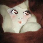 лица для кукол   Полина - Ярмарка Мастеров - ручная работа, handmade