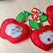 Куклы и игрушки handmade. Livemaster - original item Isoloci felt touch Apple. Handmade.