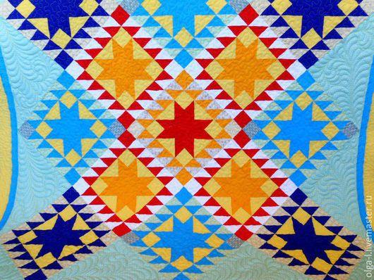 Детская ручной работы. Ярмарка Мастеров - ручная работа. Купить Лоскутный коврик для игр  на полу Пэчворк. Квилтинг.. Handmade.