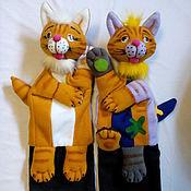 Куклы и игрушки ручной работы. Ярмарка Мастеров - ручная работа Комплект кукол дублей. Кот и краски.. Handmade.