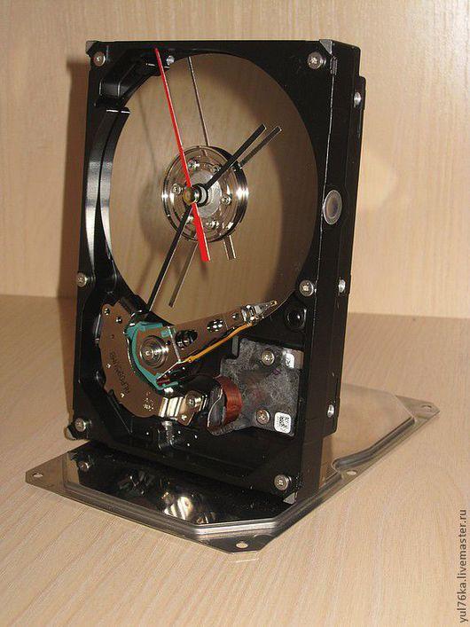 Часы для дома ручной работы. Ярмарка Мастеров - ручная работа. Купить Часы стимпанк. Handmade. Серебряный, часы, подарок мужчине
