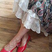 Одежда ручной работы. Ярмарка Мастеров - ручная работа Платье 2142 Шифон пейсли. Handmade.