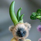 """Куклы и игрушки ручной работы. Ярмарка Мастеров - ручная работа Мишка - росточек """"Лучок"""". Handmade."""