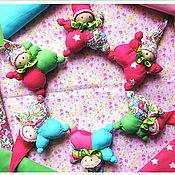 """Куклы и игрушки ручной работы. Ярмарка Мастеров - ручная работа Вальдорфский малыш """"в кармашек"""". Handmade."""