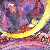 Картины и панно ручной работы. Ярмарка Мастеров - ручная работа Рождественская сказка. Мечта. Handmade.