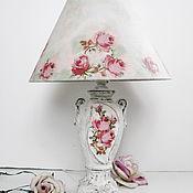Для дома и интерьера ручной работы. Ярмарка Мастеров - ручная работа Лампа настольная Шебби  шик. Handmade.