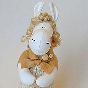 Куклы и игрушки ручной работы. Ярмарка Мастеров - ручная работа Лошадка-Нежная. Handmade.