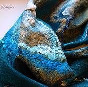 Аксессуары handmade. Livemaster - original item Tippet felted stones. Handmade.
