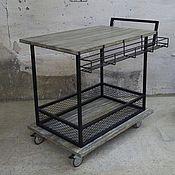 Для дома и интерьера ручной работы. Ярмарка Мастеров - ручная работа Барный столик в стиле лофт. Handmade.