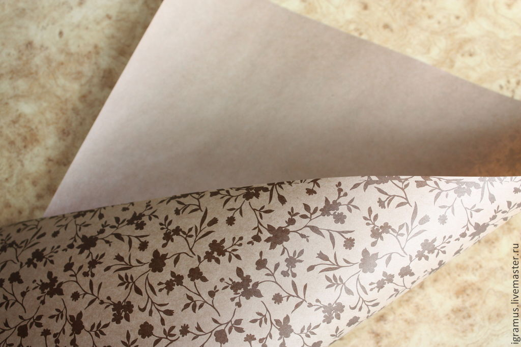 Kraft paper print, Paper, Moscow,  Фото №1