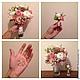 Свадебные цветы ручной работы. Ярмарка Мастеров - ручная работа. Купить Букет невесты + бутоньерка. Handmade. Букет, цветы