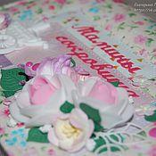 """Сувениры и подарки ручной работы. Ярмарка Мастеров - ручная работа Набор """"Мамины сокровища"""" и папка для Свидетельства о рождении.. Handmade."""