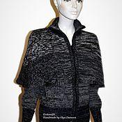 """Одежда ручной работы. Ярмарка Мастеров - ручная работа Кофта вязаная. """"Пелерина"""". Handmade."""