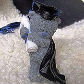 """Косметика ручной работы. Ярмарка Мастеров - ручная работа Мыло """"Тедди-выпускник"""". Handmade."""