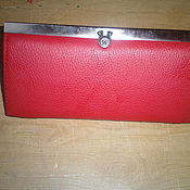 Сумки и аксессуары handmade. Livemaster - original item Women`s red purse. Handmade.