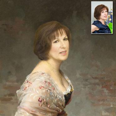 портрет по фото в тосно стоит
