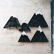 Посуда ручной работы. Ярмарка Мастеров - ручная работа Тарелки-горы. Handmade.