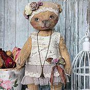 """Куклы и игрушки ручной работы. Ярмарка Мастеров - ручная работа """"Кэтти""""(в паре с """"Пьером""""). Handmade."""