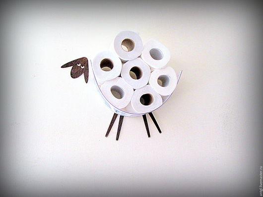 Мини Овца - Декоративння полка для туалетной бумаги