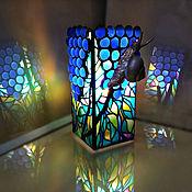 Для дома и интерьера handmade. Livemaster - original item Table bright decorative lamp Grape snail. Handmade.