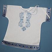 Работы для детей, ручной работы. Ярмарка Мастеров - ручная работа Крестильная рубашечка. Handmade.